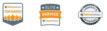 Home Advisor Top Rated | Home Advisor Elite Service | Home Advisor Screened & Approved