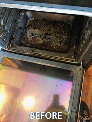 Oven Cleaning Maryland Before